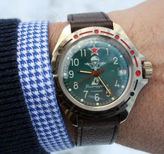 Original CCCP Russian Soviet Military Air Force Paratroopers Watch. 2nd half 20th century.
