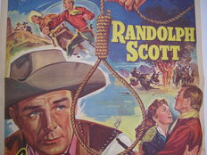 Posters; Lot with 15 film posters for classic Westerns - 1950s / 1970s
