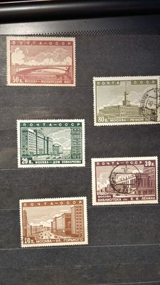 USSR 1922/1946 - Collection of stamps
