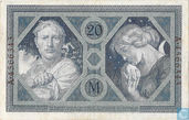 Banknotes - Reichsbanknote - Germany 20 Mark
