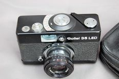 Rollei 35 led 1978-1980 35 mm camera.