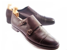 Sergio Rossi Double monk strap shoes