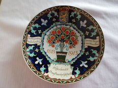 Rozenburg - Commemorative plate for the occasion of the independence of The Netherlands 1813-1913