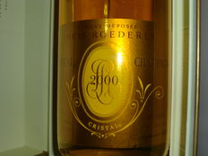 2000 Louis Roederer Cristal Brut Millesime - 1 bottle in giftbox