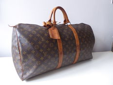 Bolso de viaje de Louis Vuitton Keepall 55.