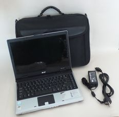 Acer 14,1 Inch Aspire 3623 WXMI - no: MS2180 - Windows XP Home - Intel celeron M - 1,5GHz. processor - 512MB - 60GB HDD