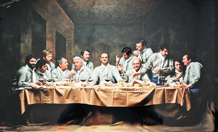 The last supper photography Last Supper of Sant Apollonia - Florence