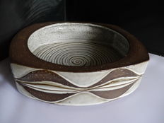 Marianne Starck for Michael Andersen & Sons - large stoneware dish