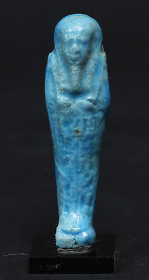 Egyptian faience Ushabti for Taihenutnektetiru - 65 mm