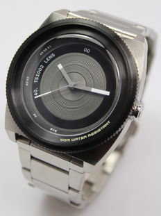 Tacs Men's Stainless Steel Designer Watch - Unworn
