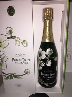 2007 Belle Epoque Perrier Jouet with its case – 1 bottle.