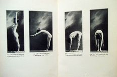 """M.Mensendieck & J.Rosenthal - lot with two books about body culture of women & health care """"Körperkultur des Weibes""""- 1890/1907"""