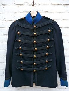 Jacket Belgian ridden Garde Civique, 1870-1907