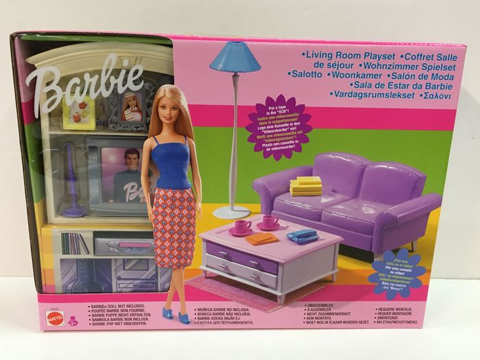 Barbies Living Room 47272, Rock Star 3611, Clothing Sets