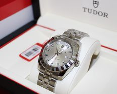 Tudor Glamour date+day ref:23010  rotor self winding 100m very nice nos - men's watch - 2016's