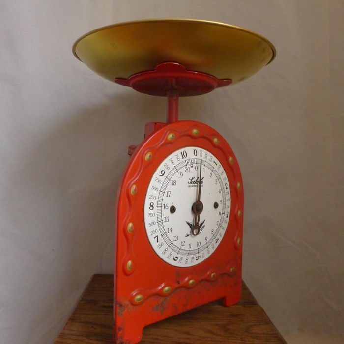 Old Soehnle kitchen weighing scale up to 10 kg - metal ...