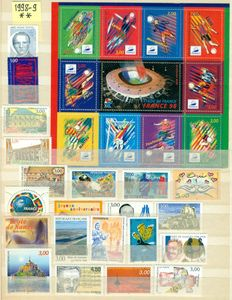 France 1958/2011 - Collection of 1.170 stamps