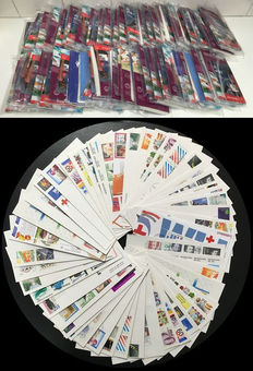 The Netherlands 1978/2008 - FDC 100 packages with 25 different envelopes