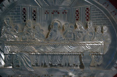 Neo-classicism - mother of pearl - The Last Supper - ca 1950