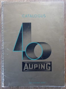 Auping; Lot with 4 catalogues + price lists and advertising brochures - 1940 / c. 1953