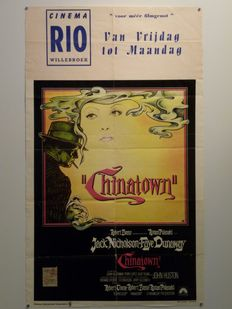 8x original 1st release Belgian movie posters - Years 1963/65/68/71/73/74/83/86 - many famous moviestars