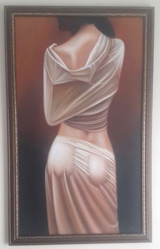 Original work; Unknown artist - Erotic view from behind - 2010