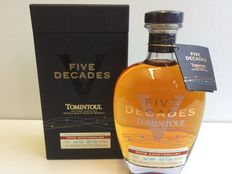 Tomintoul Five Decades - Limited Edition of 5320 bottles