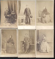 Portrait photographs from England/Great Britain/United Kingdom -30x - 1880/1920