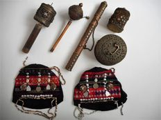 Various Tibetan utensils – second half 20th century