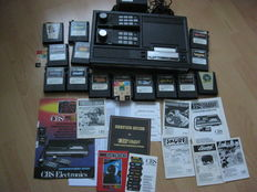 ColecoVision console with 14 games - Donkey Kong, Mr Do, Smurfs, Zaxxon, etc
