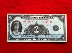 Canada - 2 Dollars 1935 - Queen Mary - Pick 40