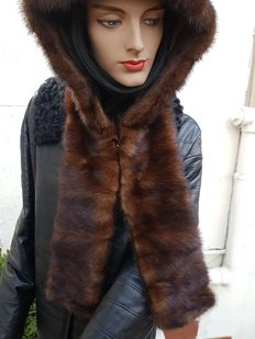 Mink fur hood / hat – MADE IN ITALY