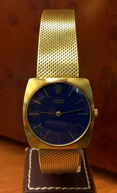 Rolex – Hand wound gold watch, gentlemen – 1966