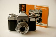 Zeiss Ikon Contaflex IV with manual.
