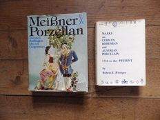 2 books about German porcelain - 1979/1980