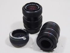 Pentax zoom lens - tele converter - extension rings - K Mount