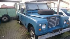 "Land Rover - 109"" series 3 station wagon - 1980"