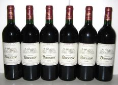 1998 Madiran Chateau Bouscassé - Lot of 6 bottles