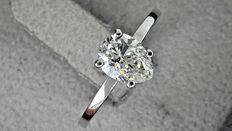 1.01 ct pear diamond solitaire ring 14 kt gold *** no reserve price ***