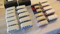 Kinsmart / Nex Models / Welly - Scale 1/32-1/34 - Lot with 22 models: 22 x Volkswagen