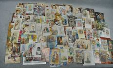 Lot x 200 religious vignettes - Spain - 19th century/ 20th century -