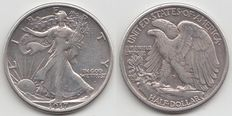 United States – Half dollar 1917s (San Francisco) – silver