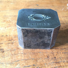 Beautiful French factory stamp for medallion - metal
