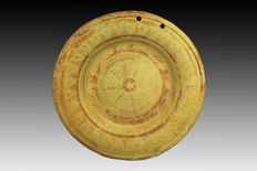Greek votive offering plate - 11 cm