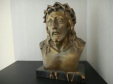 Christ bust L 'Artaux - XX th