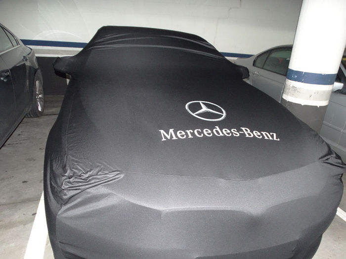 Mercedes benz pagode w113 car cover for Mercedes benz e350 car cover