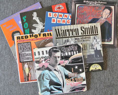 SUN records. Lot of 7 beautiful SUN artists albums released by CHARLY UK in 1977 to 1988