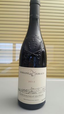 2013 Chateauneuf du Pape Domaine Giraud Tradition – 6 bottles.