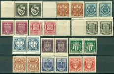 France 1906/1957 - Collection of 515 stamps, including  complete sets