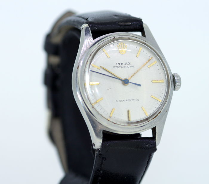 Rolex Oyster Royal Shock Resistant 1940's, Stainless Steel Swiss Made Men's Wristwatch